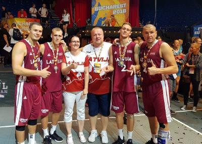 Latvija- 3x3 Eiropas vicečempioni!