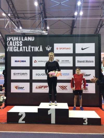 Vieglatlētu starti Sportland kausa 1.posmā