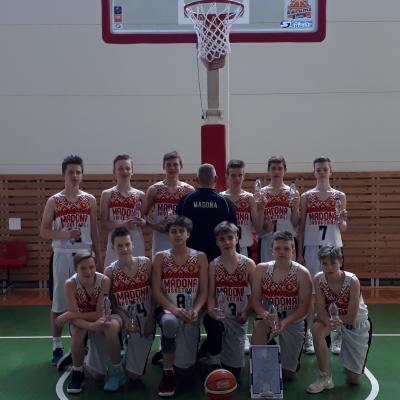 MBJSS U15 basketbolistu 33 uzvaru sērija sezonā.